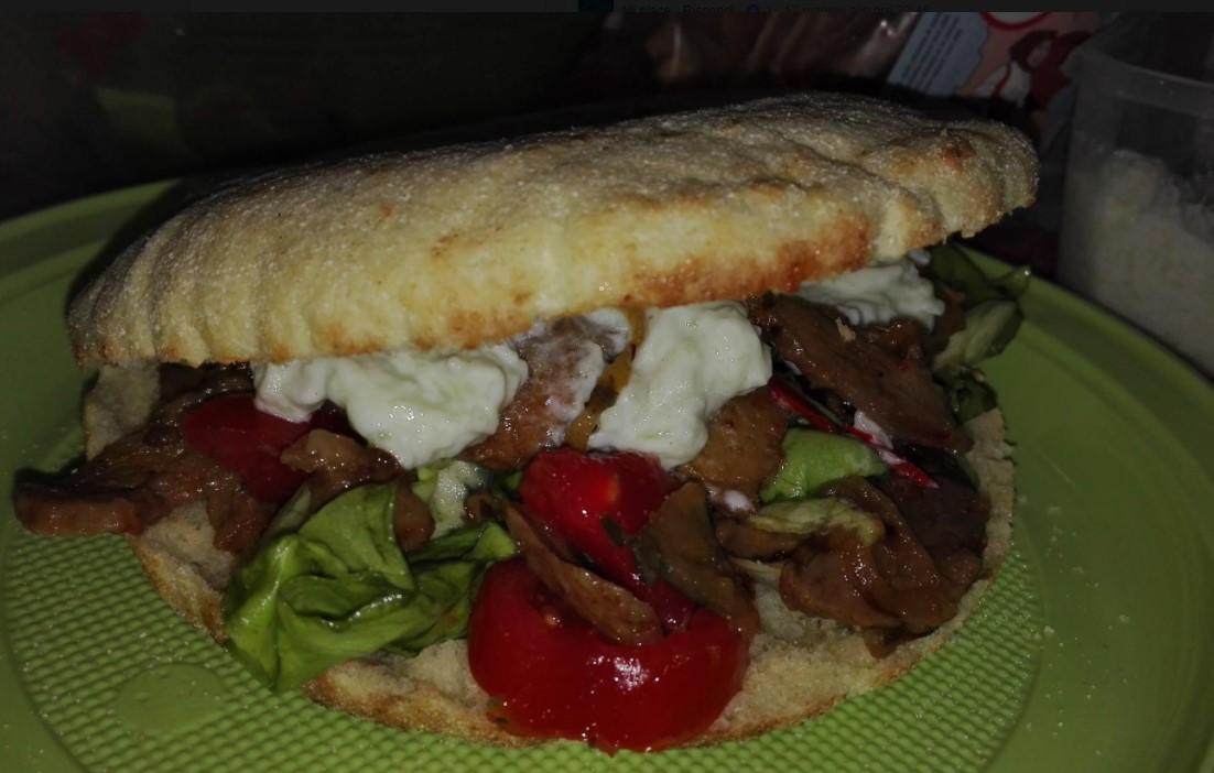 Spianata e kebab